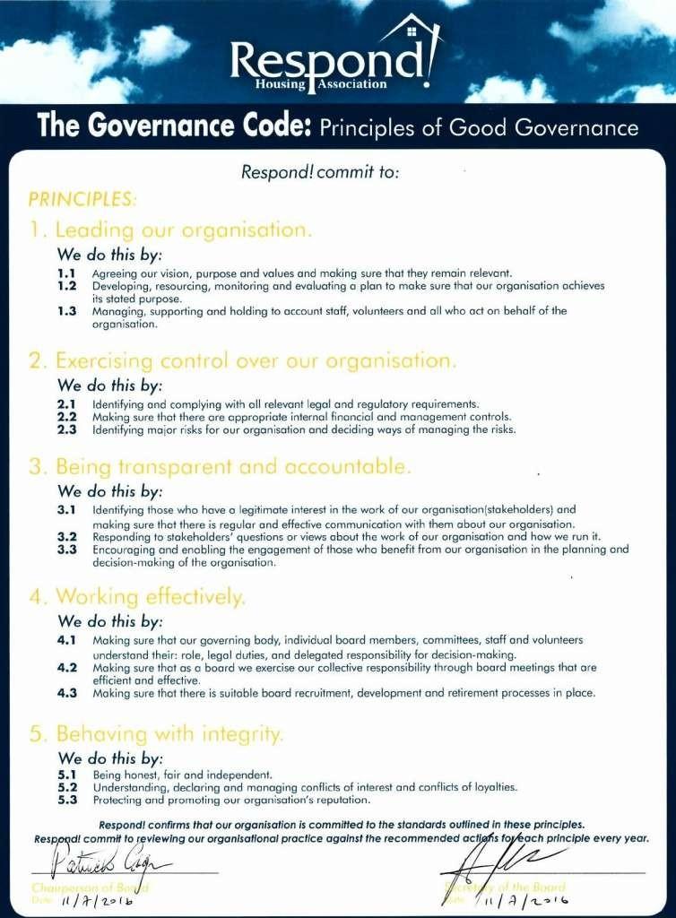 Respond! Gov Code July 16