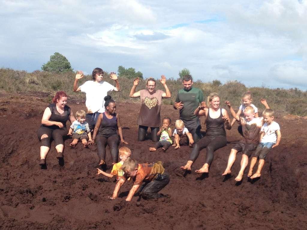 cuan alainn have a mud glorious mud day at causey farm