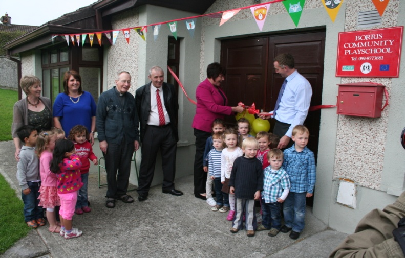 Borris Playschool opening