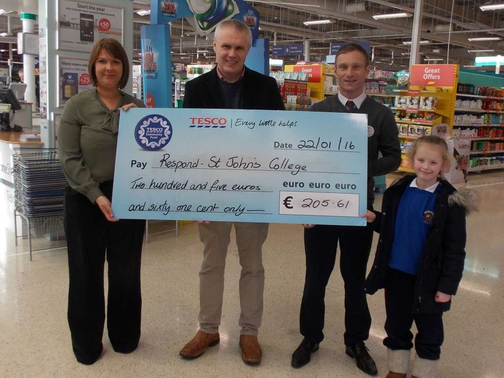 Tesco cheque