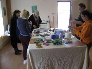 glass stain course participants (2)