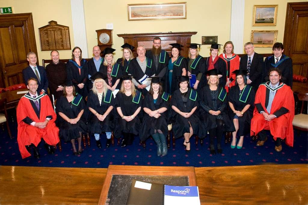 Respond College Graduation Cork 2015