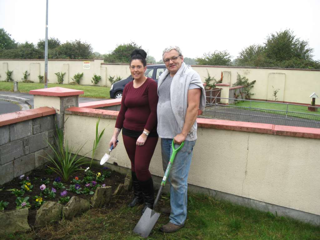 Kathleen Mc Donagh & Horticulturist John Forrestal (1)