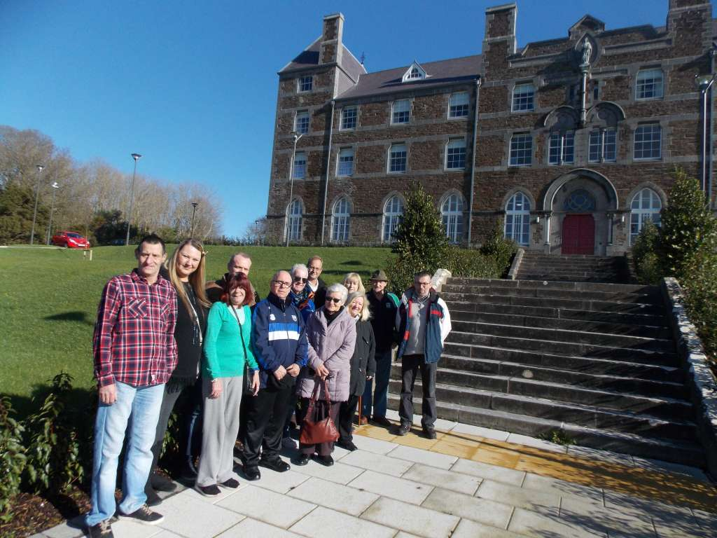 Residents and Staff at Johns College Feb 2016