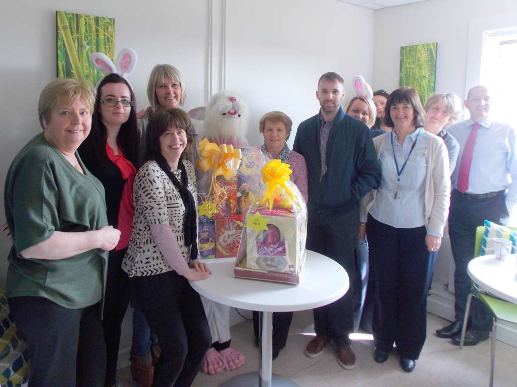 Respond Staff Southern Region at Easter Draw 16 in aid of Crumlin