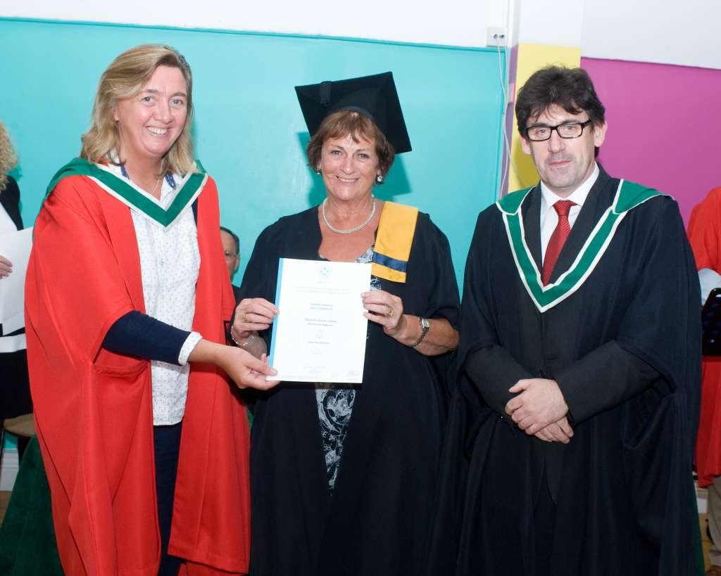 Dr Deborah Butler, Catherine Delaney and Kevin O'Farrell