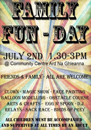 Family Fun Day 2nd July