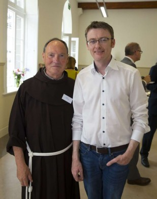 A - Fr. Pat and Senator David Cullinane