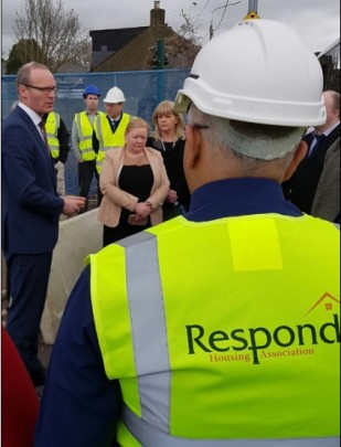 R! branding with Minister Coveney