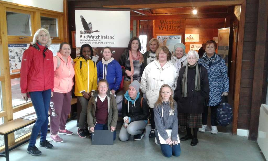 Intergenerational Group day trip to Wexford Wildfowl Reserve Sept 2017